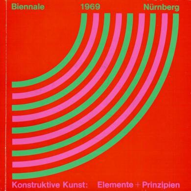 Kunsthalle Nürnberg & Institut für moderne Kunst Nürnberg 18.April-3.August 1969