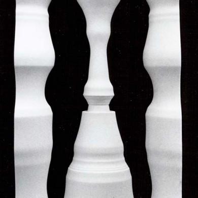 Modell; svarvad figur, 1967.
