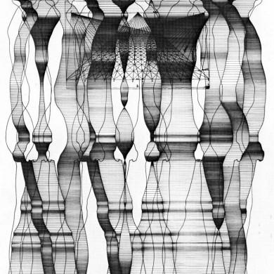 Seriegrafi, ritning 1967