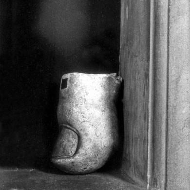 Antikt fragment av hand; Vatikanmuseet, Rom