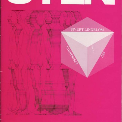 Sveriges Stenindustriförbund Nr 2 1985 Årgång 47Ladda ned denna bilaga av artikeln i Sten 1985. Du hittar en pdf-fil via Huvudmenyn under fliken