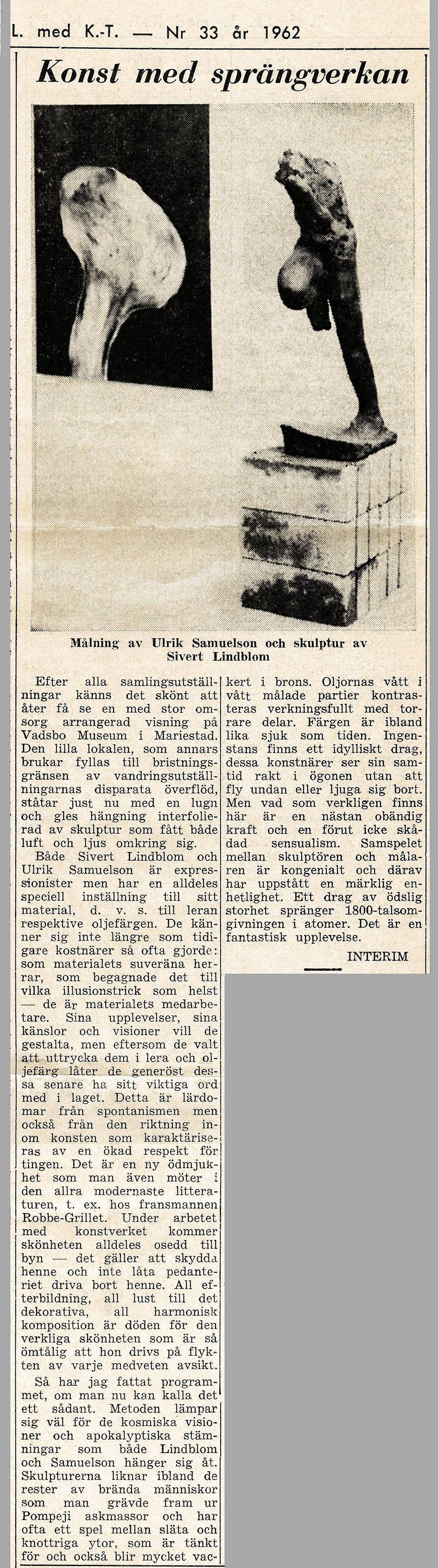 Mariestad SL-US 1962