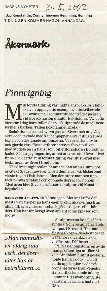 Sivert Lindblom Åkermark 1--