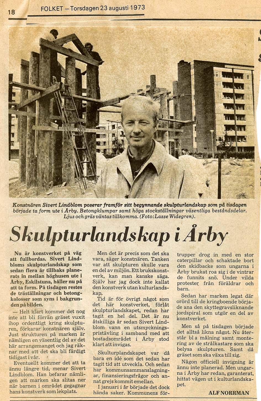 Sivert Lindblom Årby Folket-
