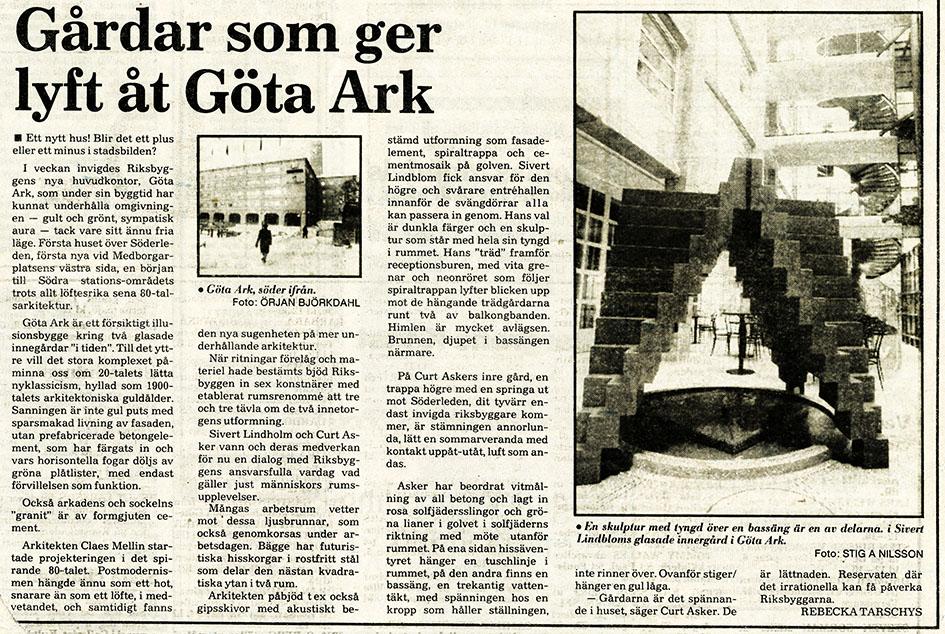Sivert Lindblom Göta Ark-