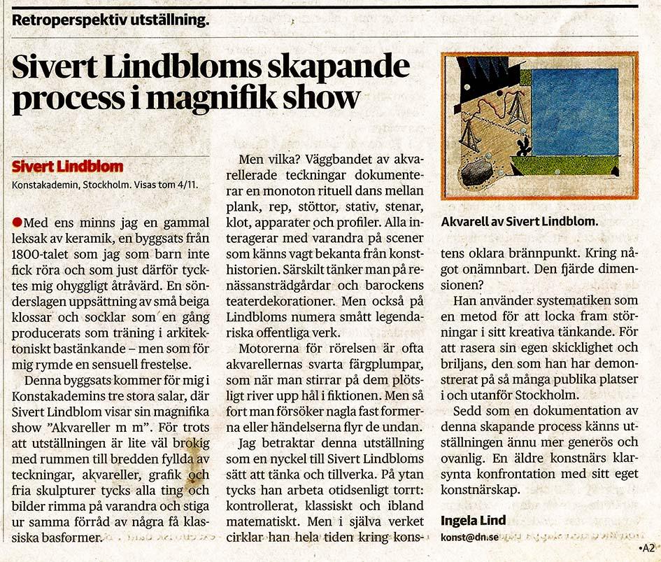 Sivert Lindblom Ingela Lind DN-